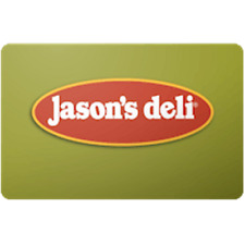 Jason's Deli Gift Card $50 Value, Only $41.09! Free Shipping!