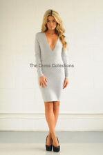 Robes gris coton taille M pour femme