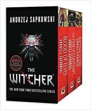 The Witcher Boxed Set by Andrzej Sapkowski (2017, Paperback)