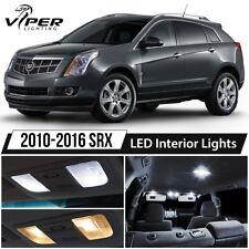2010-2016 Cadillac SRX White LED Interior Lights Package Kit