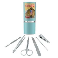 Back 40 Keepin' It Rural Early Riser Manicure Pedicure Grooming Travel Kit