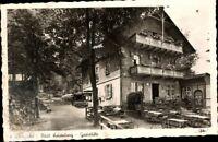 Alte AK PK Postkarte gelaufen ´49 Foto SW Wunsiedel Städt. Luisenburg Gaststätte