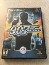 James Bond 007 in Agent Under Fire - Playstation 2 Complete CIB  copy3