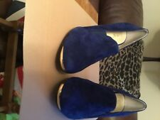 Lotus new no box size 7 blue  suede
