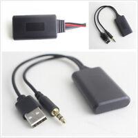 Car Bluetooth 3.5mm AUX Cable Adapter For BMW E90 E91 E92 E93 Radio Navigation