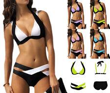 Sexy Costume bagno da donna bikini intero per piscina nuoto Monokini mare moda