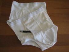 Lot of 2 vintage underwear J C Penney rare dash line white brief 32 1960s