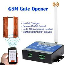 Wireless GSM Door Access Free Call Phone Remote Control Gate Opener Relay Switch
