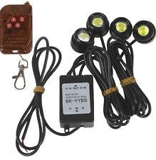 Wireless Remote & 4 x 1.5W Strobe Flash Eagle Eye LEDs Car Light Lamp