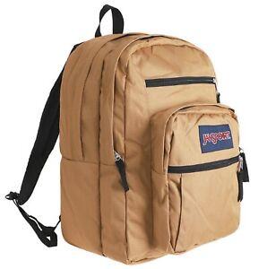 JANSPORT BIG Student Backpack Bags Sports Brown Casual School Bag JS00TDN747S