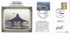 (08231) GB/ Maldives Benham Cover Concorde Captain Signed Sandy MacFarlane 2004