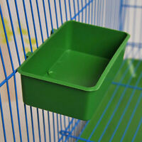Useful Cup Bird Parrot Pet Cage Aviary Water Food Feeding Bathing SuppF5X2
