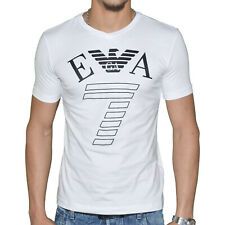 Original Tee Shirt EMPORIO ARMANI EA7 273755 Slim Fit Blanc White T.L