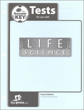 BJU Press - Life Science Tests Answer Key - 279992