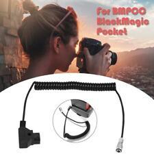 Acoplador de cable de alimentación de CC para BMPCC Blackmagic cámara de cine de bolsillo 4K