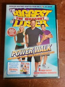 The Biggest Loser Workout Power Walk Brand New Sealed! (DVD)