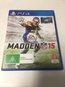 PS4 GAME MADDEN NFL 15