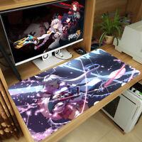 Anime Honkai Impact 3rd Mouse Pad Yae Sakura PC Keyboard Mat Thicken Playmat