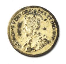 1921 Canada 10 Silver Ten Cents KM# 23a