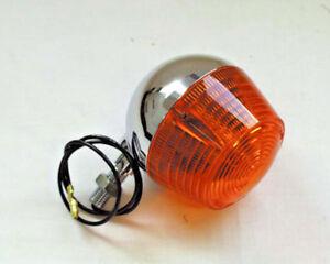 Neue Blinker winker chrom Suzuki RV 50 RV 90 RV 125 RV50 RV90 RV125 E-gepr. NEU
