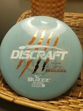🔥New! Swirly Blue Discraft Paul McBeth 4x W.C. First Run Misprint Buzzz 177+g🔥
