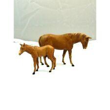 Animali Cavallo con Puledro Landi Moranduzzo CM 8 - Pastori Presepe