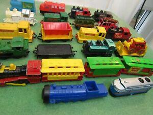 vintage 1/64 MATCHBOX TRAIN vehicles train CORGI RAILWAY diecast bundle JOB LOT