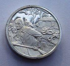 Franklin Mint Sterling Silver Mini-Ingot: 1856 Slavery Dispute in Kansas