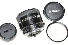 Nikon AF Nikkor 85mm f1.8 Prime Autofocus Lens   Excellent Condition