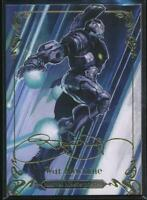 2018 Marvel Masterpieces Gold Foil Trading Card #34 War Machine (Tier 1)