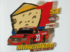 Toyota Tundra TRD Milwaukee Speedway Racing Pin , #23  (**)