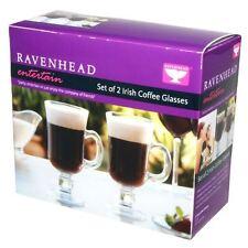 Ravenhead Entertain Irish Coffee Occhiali Vin Brulè cioccolata calda-Set di 2