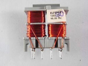 Übertrager 20 kHz 4 Wicklungen 4 x 1,45 mH Cu Lackdraht Durchm 0,5mm TRANSFORMER