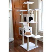 Armarkat Cat Tree Pet Furniture 77 in. Condo Scratcher - B7701
