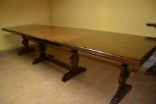 TABLE NEW ITALY WALNUT DINING ROOM TABLE # 662M407