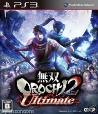 Used PS3  Musou OROCHI 2 Ultimate SONY PLAYSTATION 3 JAPAN JAPANESE IMPORT