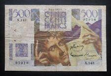 "500 Francs  ""Chateaubriand"" - 4 juin 1953"