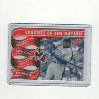 1997 Leaf Leagues of the Nation Ken Griffey Jr. Insert Card #'d 0808/2500 WOW