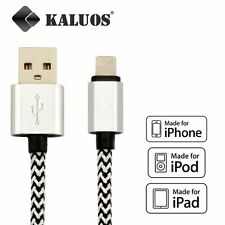 Long 2M Kaluos USB Cable for iPhone 6S 6 5S 5 7 Data Charger Extension Lead Wire