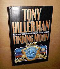 1995! Finding Moon! Tony Hillerman! Mystery Thriller! HC! w/DJ!  VG Cond! A+NR!