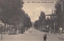 * JESI - Viale dalla Stazione in città 1911