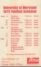 1975 University Of Maryland Football Schedule 101917jh