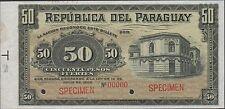 Paraguay , 50 Pesos Fuertes , 14.7.1903 , P 111bs2 , Rare