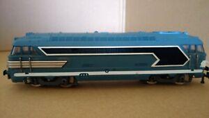 Vintage Jouef HO Gauge Diesel SNCF Locomotive 67001. See Description.