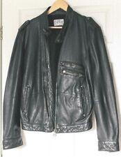 Mens Leather LEVI A-2 Flying Pilot Bomber jacket