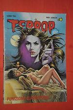 FUMETTO HORROR -TERROR-  BLU - N°137 . ANNO 1982- edizioni ediperiodici-ep