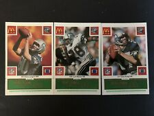 1986 McDonald's Football Seattle Seahawks Complete Set (Green Tab)