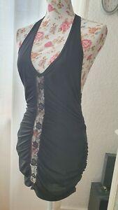 Kleid Red Corner by Cottelli Collection schwarz M neuwertig Mini sexy clubwear