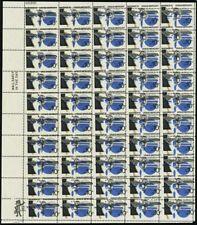 1557. Huge Black Color Shift ERROR in Full Sheet of 50 Stamps - Stuart Katz