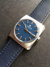 Junghans 620.00 Blue Dial Vintage German Made Mens Watch